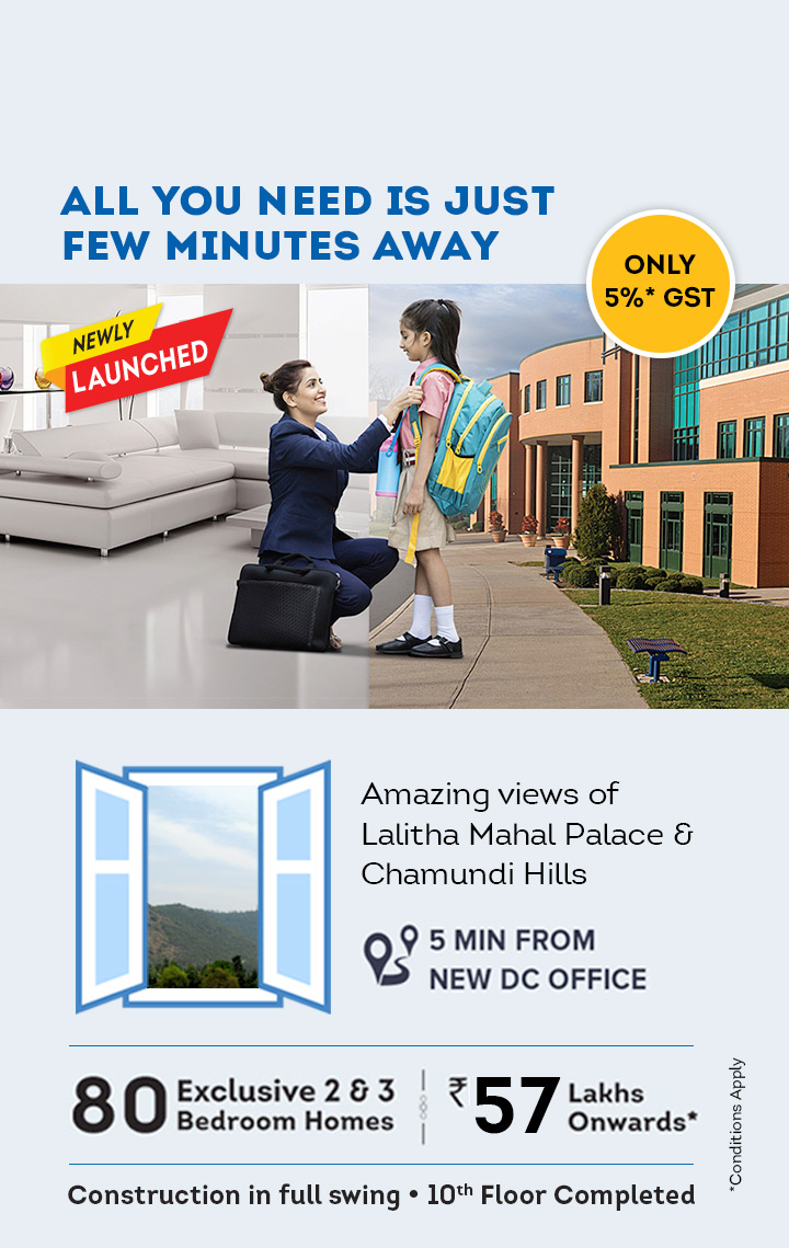 Apartments in Mysuru